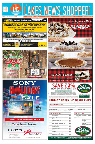 Lakes News Shopper - Dec 17, 2019