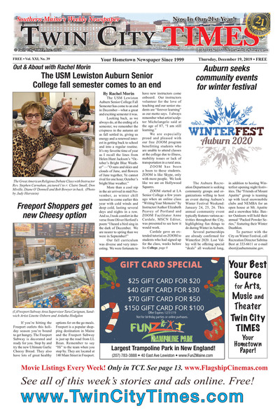Twin City Times - Dec 19, 2019