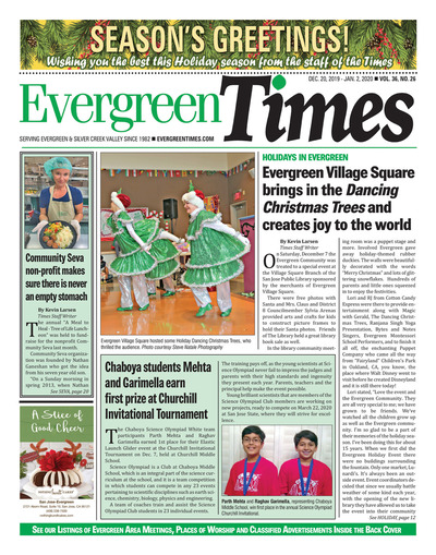 Evergreen Times - Dec 20, 2019