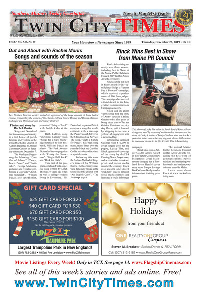 Twin City Times - Dec 26, 2019