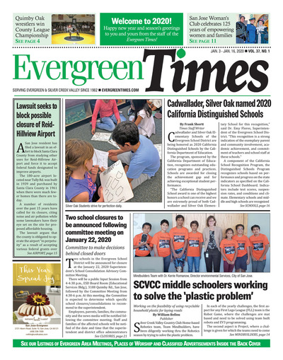 Evergreen Times - Jan 3, 2020