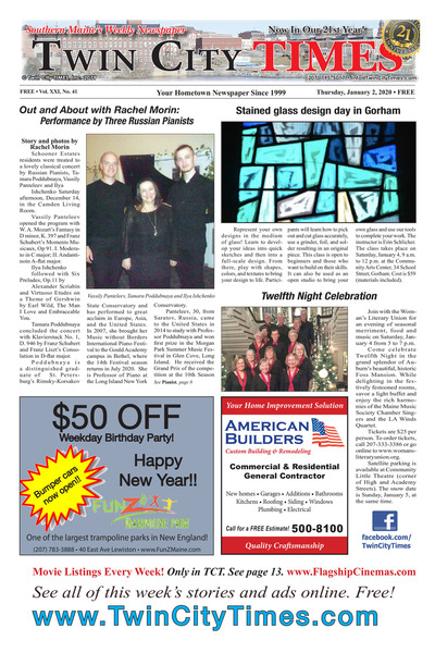 Twin City Times - Jan 2, 2020