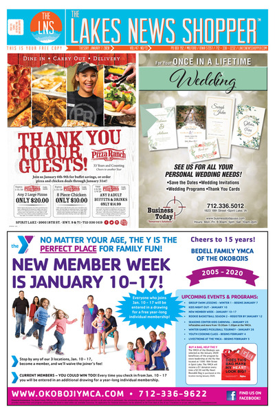 Lakes News Shopper - Jan 7, 2020