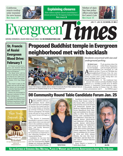 Evergreen Times - Jan 17, 2020