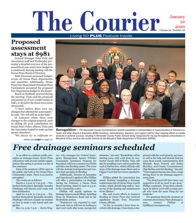 Delmarva Courier - Jan 22, 2020