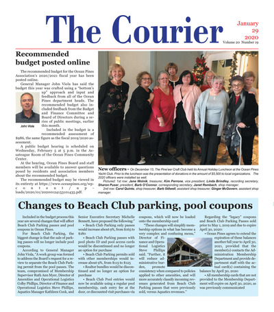 Delmarva Courier - Jan 29, 2020