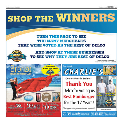 Delco Daily Times - Special Sections - 2020 Shop the Winners