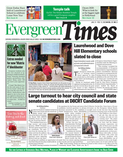 Evergreen Times - Jan 31, 2020