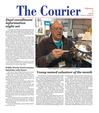 Delmarva Courier - Feb 5, 2020