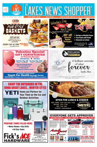 Lakes News Shopper - Feb 4, 2020