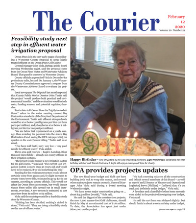 Delmarva Courier - Feb 12, 2020