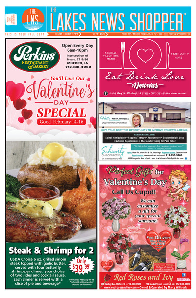 Lakes News Shopper - Feb 11, 2020