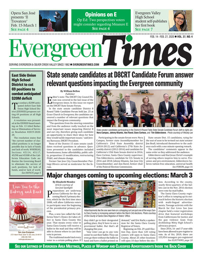Evergreen Times - Feb 14, 2020