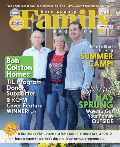 Kern County Family Magazine - March 2020