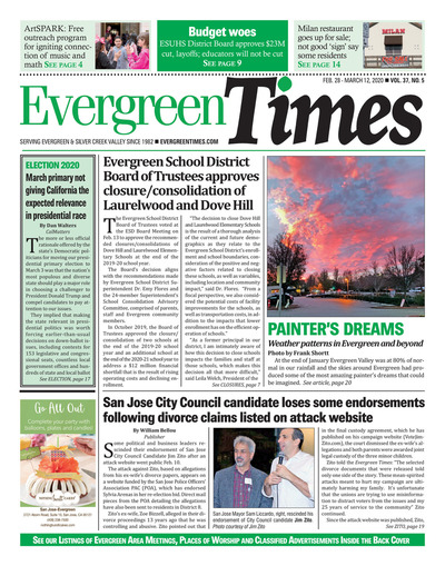 Evergreen Times - Feb 28, 2020