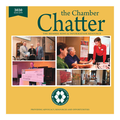 Daily Local - Special Sections - The Chamber Chatter - March /April 2020