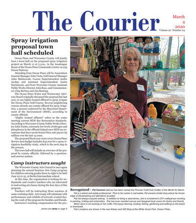 Delmarva Courier - Mar 4, 2020
