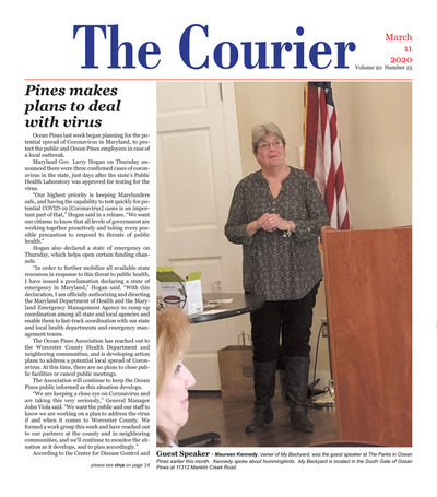 Delmarva Courier - Mar 11, 2020