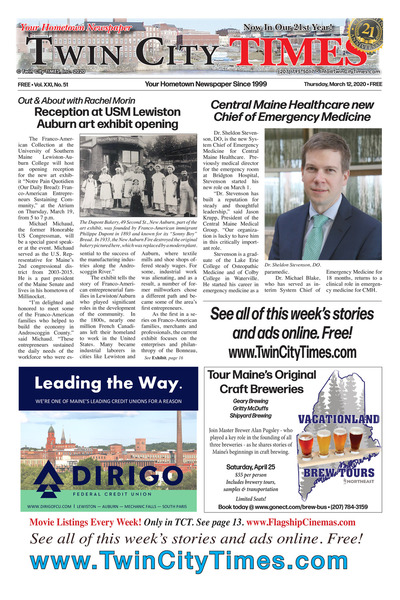 Twin City Times - Mar 12, 2020