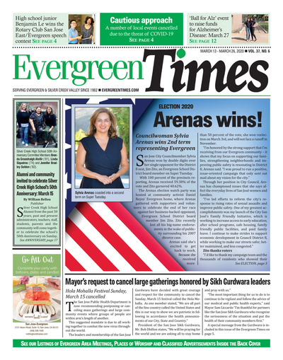 Evergreen Times - Mar 13, 2020