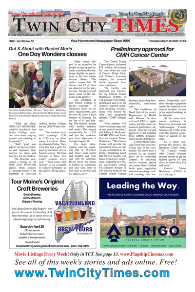 Twin City Times - Mar 19, 2020