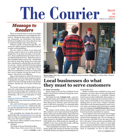 Delmarva Courier - Mar 25, 2020