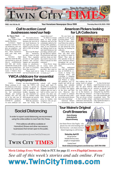 Twin City Times - Mar 26, 2020