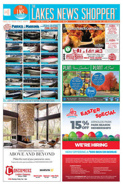 Lakes News Shopper - Mar 31, 2020