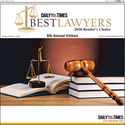 Delco Daily Times - Special Sections - Best Lawyers - 2020 Reader's Choice - April 2020
