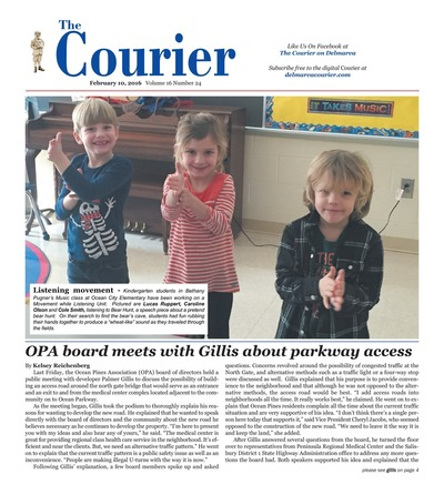 Delmarva Courier - Feb 10, 2016