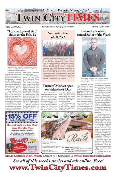Twin City Times - Feb 11, 2016