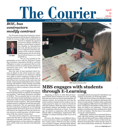 Delmarva Courier - Apr 15, 2020