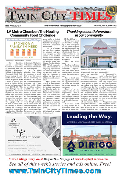 Twin City Times - Apr 16, 2020