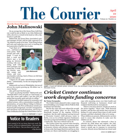 Delmarva Courier - Apr 22, 2020