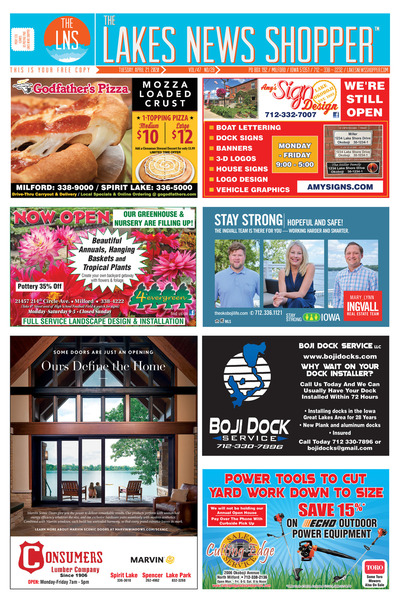 Lakes News Shopper - Apr 21, 2020