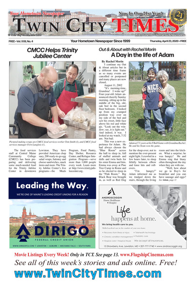 Twin City Times - Apr 23, 2020