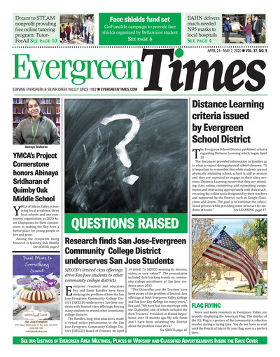 Evergreen Times - Apr 24, 2020