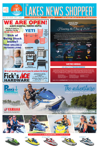 Lakes News Shopper - Apr 28, 2020