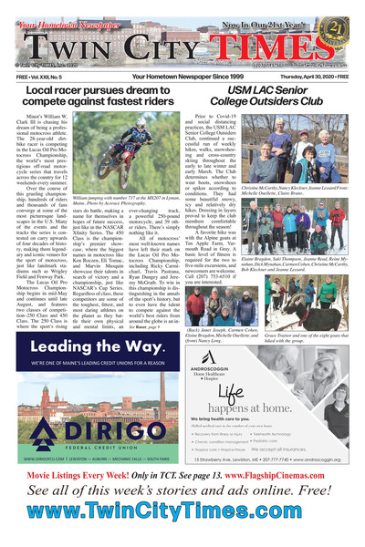 Twin City Times - Apr 30, 2020