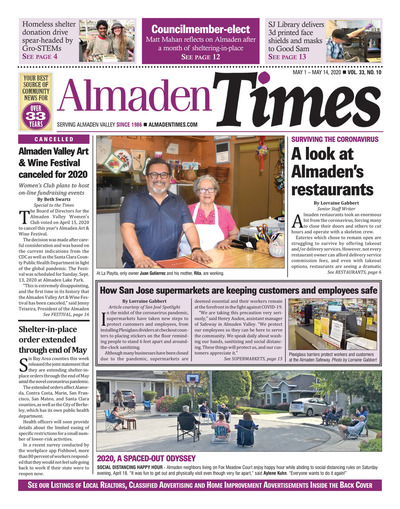 Almaden Times - May 1, 2020