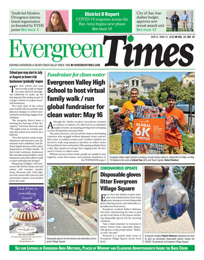 Evergreen Times - May 8, 2020