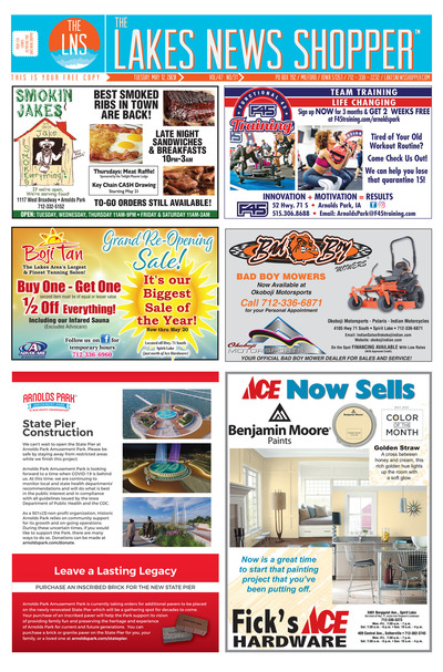 Lakes News Shopper - May 12, 2020