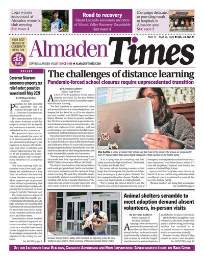 Almaden Times - May 15, 2020