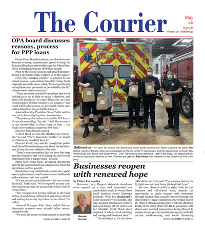 Delmarva Courier - May 20, 2020