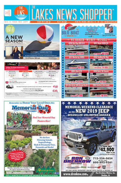 Lakes News Shopper - May 19, 2020