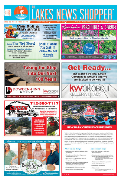 Lakes News Shopper - May 26, 2020