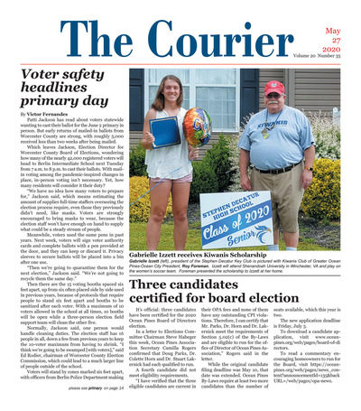 Delmarva Courier - May 27, 2020