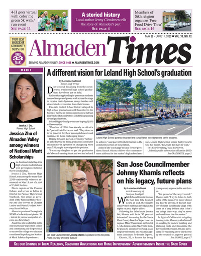 Almaden Times - May 29, 2020