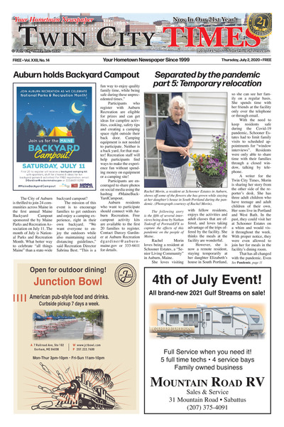 Twin City Times - Jul 2, 2020