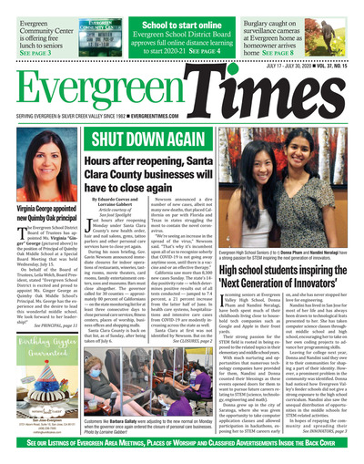 Evergreen Times - Jul 17, 2020
